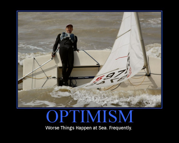 The Principle Of An Optimist Tomorrow Will Be: Motivation
