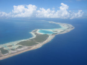 Rangiroa from the Air